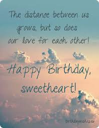 birthday quotes for wife long distance funpro
