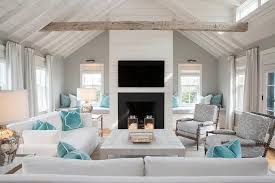 living rooms shiplap vaulted ceiling