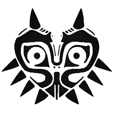 Majoras Mask Decal Sticker