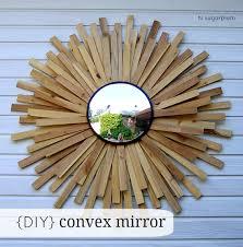 diy convex sunburst mirror hi sugarplum