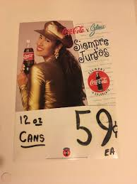 Rare Selena Quintanilla Coca Cola Decal 1887697211