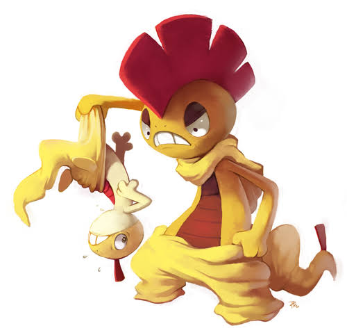 Image result for How To Evolve Scraggy Into Scrafty In Pokémon Go""