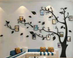 15 Fabulous Decorating Ideas Using Wall Stickers Family Tree Wall Tree Wall Decal Family Tree Wall Decal