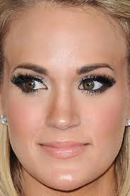 carrie underwood eye makeup cat eye