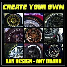 Create Your Own Tire Stickers Tire Stickers
