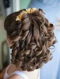 تسريحات شعر قصير للاعراس للاطفال