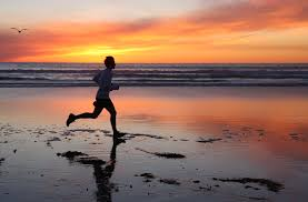 mindful exercise running swimming walking | Stress Less Kzoo