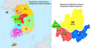 Population of South Korea and Seoul ...