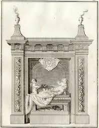TOMBEAU CHARLES MAIGNÉ Maison de Rochefort - Millin Gravure originale  XVIIIe - EUR 30,00 | PicClick FR