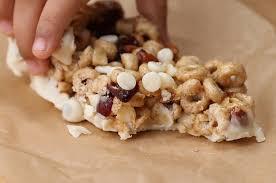 no bake cereal bars