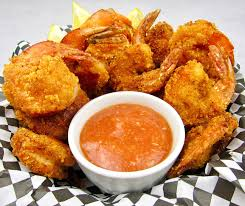 Keto Fried Shrimp with Cocktail Sauce ...
