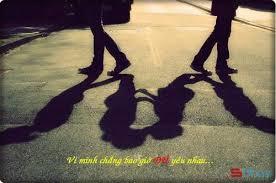 Stt viết cho mối tình dang dở - con đường chúng ta đã chia hai rồi ...