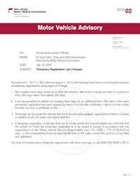 2018 form nj motor vehicle advisory