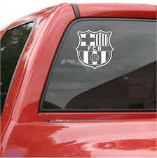 Fc Barcelona Vinyl Decal 5 Car Truck Window Sticker Futbol Soccer Spanish Spain 3 99 Picclick