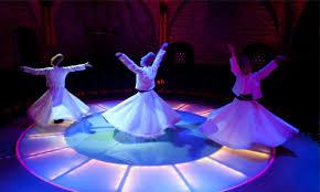 رقصة  الدراويش  المولوية  والمراوحة  في  المكان …