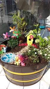 my little pony fairy garden with