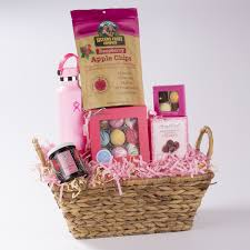 mother s day pink gift basket made in
