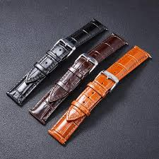high quality genuine leather watch band