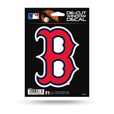 Boston Red Sox 5 X 4 Die Cut Decal Window Car Or Laptop Mlb Hub City Sports