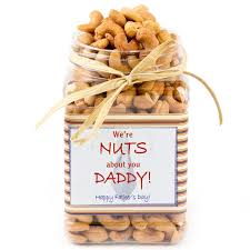 we are nuts about you daddy cashew nut