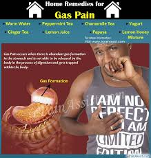 home remes for gas pain