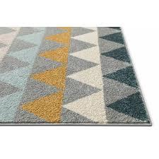 well woven mystic grey blue yellow rug