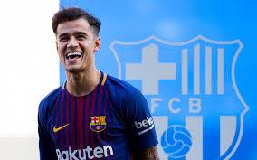 تحميل خلفيات كوتينهو برشلونة 2018 مروحة الفن لاعبي كرة القدم