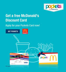 pockets card offer free mcdonald s