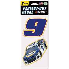 Chase Elliott Wincraft 4 X 8 Two Pack Color Perfect Cut Decals