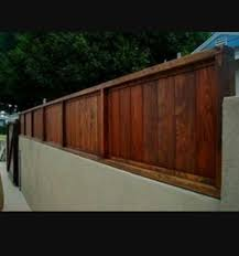 Block Wall Fence Toppers Fence Toppers Backyard Fences Wood Fence