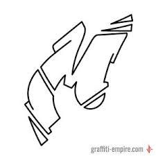graffiti letters a z graffiti