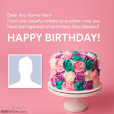 special happy birthday wishes and photo