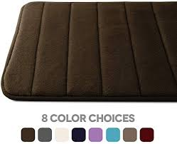 caravalli memory foam bath mat