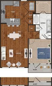 waiting in your one bedroom floor plan