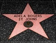 Adela Rogers St. Johns - Hollywood Star Walk - Los Angeles Times