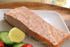 salmon with lemon horseradish sauce recipe