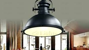 black industrial pendant light ikea