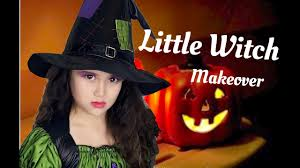 little witch makeup and costume