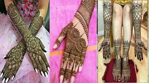arabic mehndi design 2019 bridal