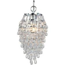 af lighting crystal teardrop 1 light