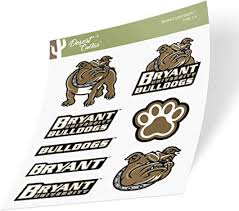 Amazon Com Bryant University Bulldogs Ncaa Sticker Vinyl Decal Laptop Water Bottle Car Scrapbook Type 2 Sheet Arts Crafts Sewing