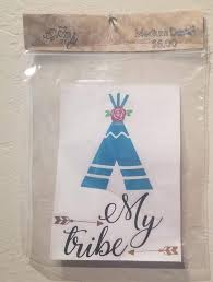 Check Out This Item In My Etsy Shop Https Www Etsy Com Listing 707383947 Boho Decal My Tribe Arrows Teepee Car Car Decals Stickers Decals Teepee