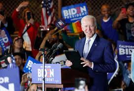 Joe Biden beats Bernie Sanders