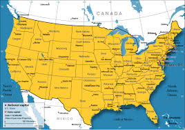 United States Map - Nations Online Project