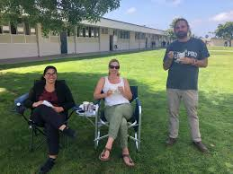 "Wendi McCoy Butler on Twitter: ""Channel Islands bio teachers...having lunch  on the green. @cihs_raiders… """
