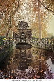 vintage photo de medici fountain