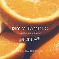my diy vitamin c serum recipe