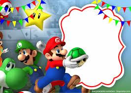 Mario And Luigi Invitation Template For Your Children S Birthday Event Fiesta De Cumpleanos De Mario Decoracion De Mario Bros Invitaciones De Mario Bros