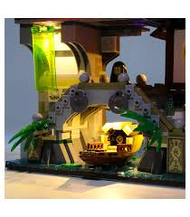 Light Kit For Ninjago City LED Lighting Set 70620 - BuildingToyStore.com