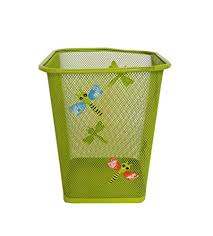 Buy Wonderland Cute Colourful Metal Waste Paper Basket Bedroom Office Rubbish Bin Kids Room Decor Gidt Ideas Girls And Boys Online At Low Prices In India Wonderland Cute Colourful Metal Waste Paper